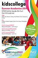 KidsCollege@PVCC 2019 Summer Academies