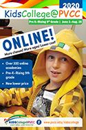 PVCC KidsCollege 2020 ONLINE Academy Schedule