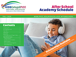 KidsCollege @ PVCC After School Academies - Fall 2020