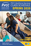 PVCC Workforce Services Spring 2020 Class Schedule
