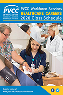 PVCC Workforce Services 2020 Health Careers Class Schedue